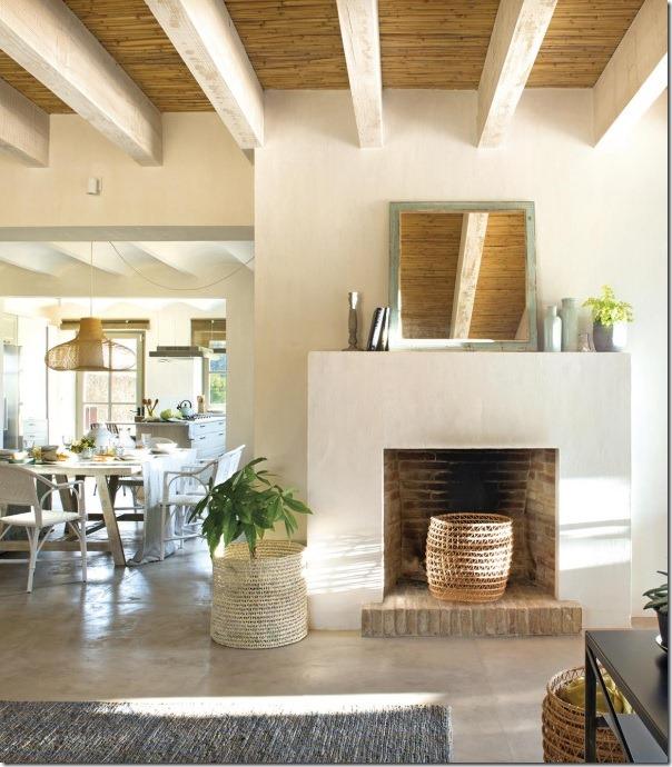 Casa di campagna l 39 unione perfetta tra natura ed eleganza for Casa minimal chic