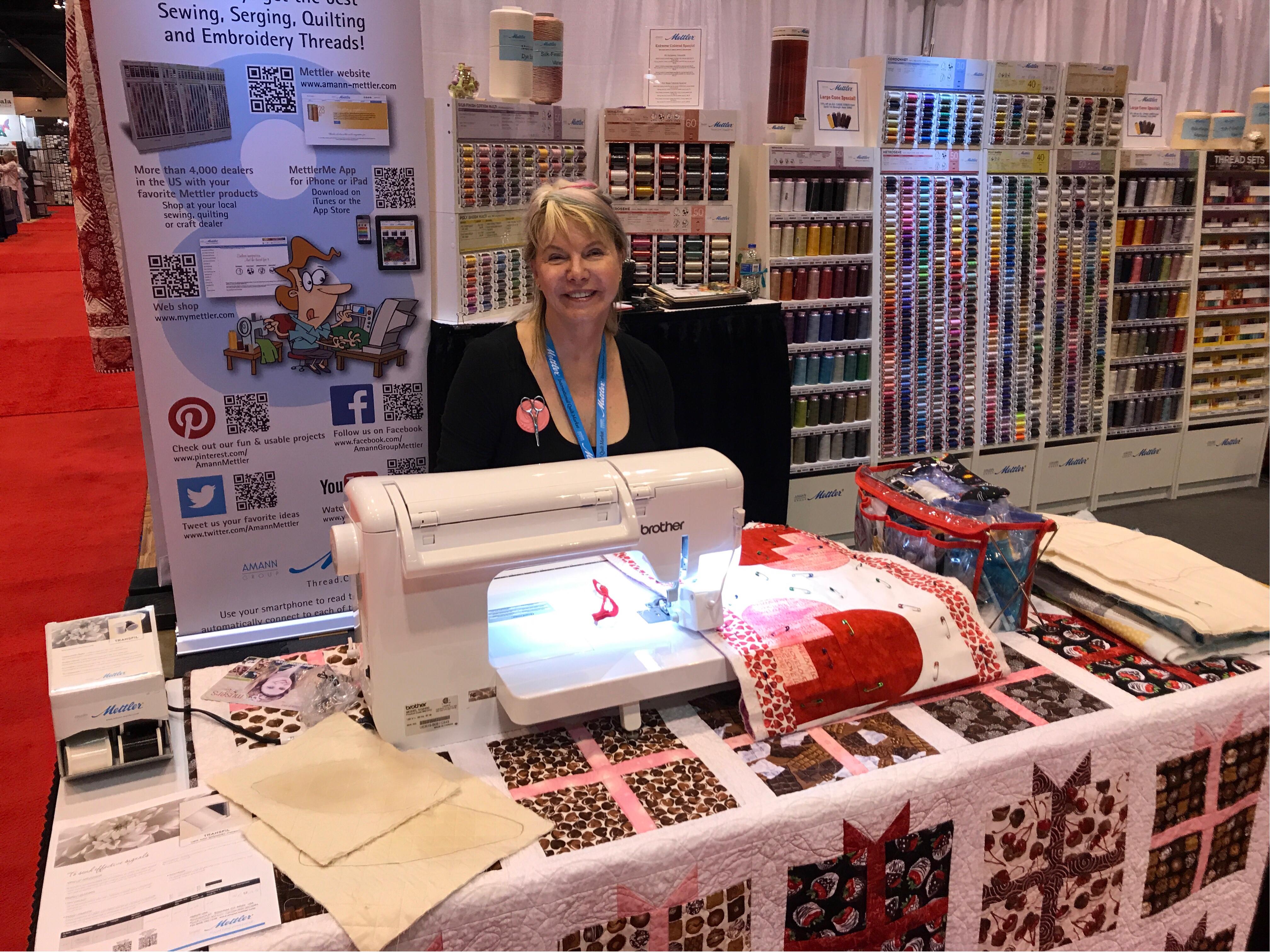 Paula Reid - Machine Quilter: Catching Up with Quilt Market Photos : quilt shops tulsa ok - Adamdwight.com