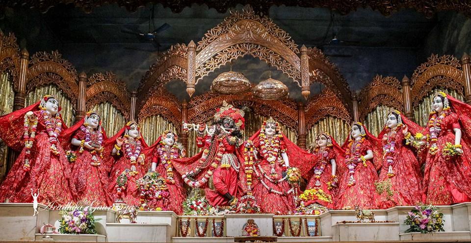 ISKCON Mayapur Deity Darshan 06 Jan 2015 (18)