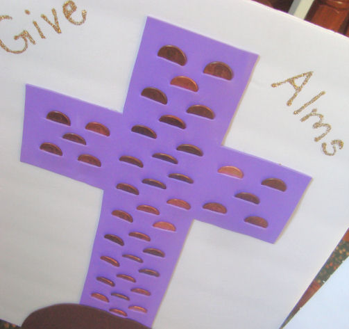 Supplies Needed To Make This Almsgiving Craft
