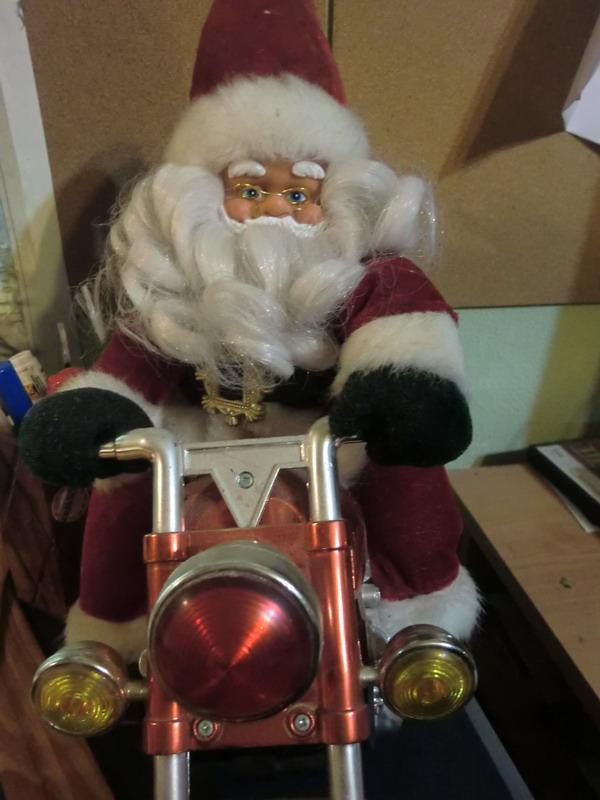 Foto: 01 - Papa Noel se moderniza
