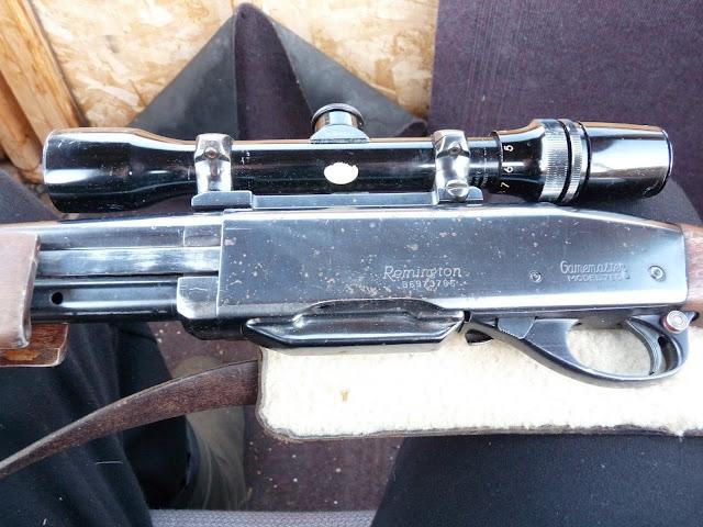 "close-up of the Remington ""Gamemaster"""