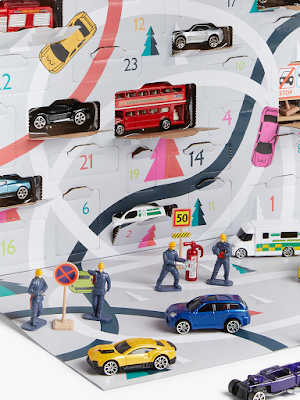 City Vehicles Advent