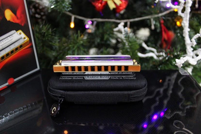 Kèn Harmonica - Hohner Marine Band Deluxe (key C)