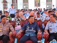 Bupati, H.M. Basli Ali  Hadiri Serah Terima Ka.Rutan Selayar Yang Baru