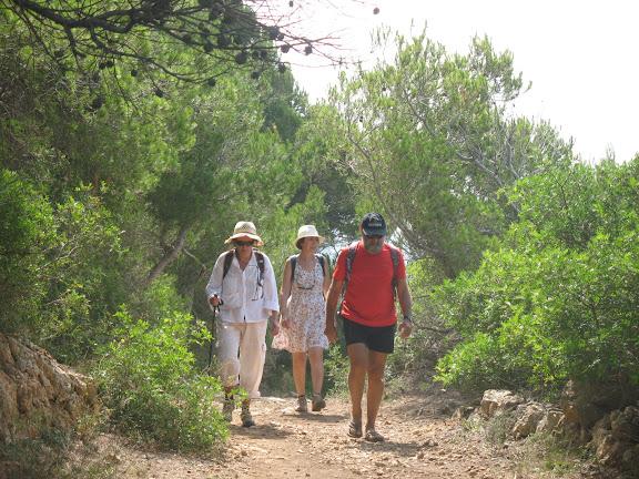 Menorca.-Por el camí de cavalls desde Binigaus