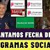 Presidente adelanta fecha de pagó programas sociales, Ingreso solidario, Adulto mayor, familias