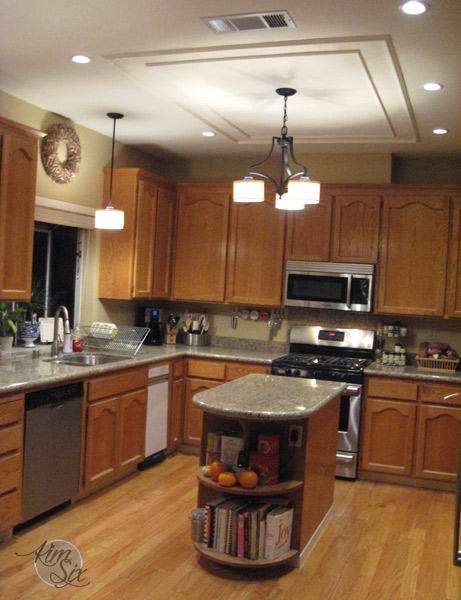 kitchen fluorescent light replacement kitchen after box light replacement jpg 4880
