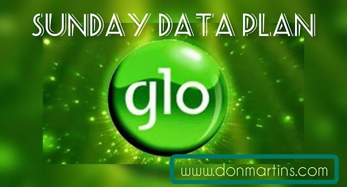 Glo 1.2GB data  for N200  Sunday plan [activate now]