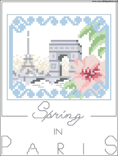 Spring in Paris chart