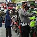 Bersama Insan Pers, Polres dan TNI Bagikan Vitamin dan Masker di Humbahas Doloksanggul