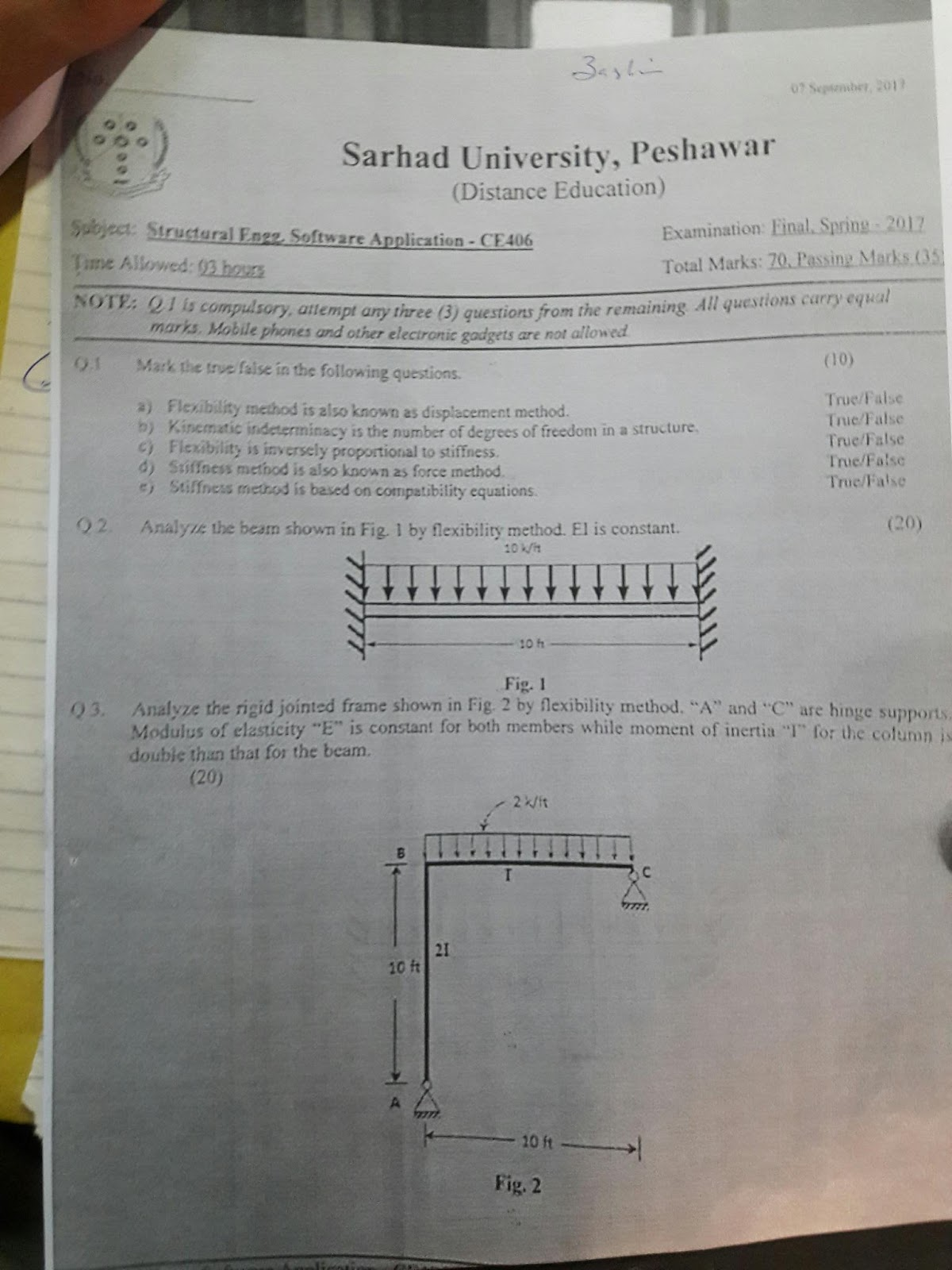 Btech Civil Engineering All Notes