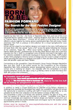 Photo: April 09 - Infusion mag - Maybelline Born to Be - Fashion Forward comp in association with Buffi Jashanmal