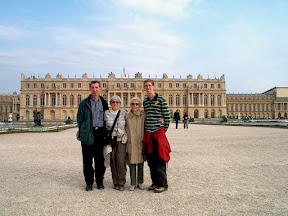 At the Château de Versailles