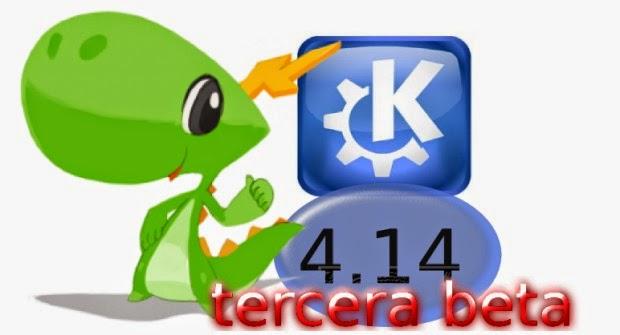 Disponible la tercera beta de KDE 4.14 Aplicaciones y plataforma