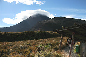 Tongariro Crossing trailhead