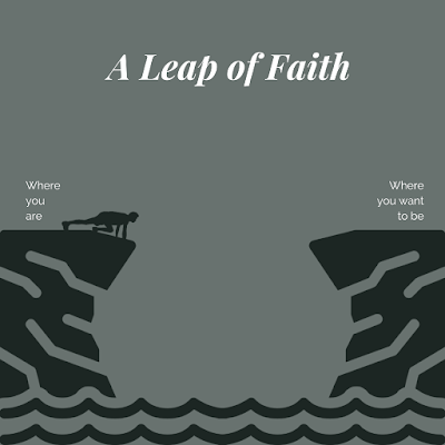 Before you take a leap of faith - make sure to set these 3 aspects of your life first.
