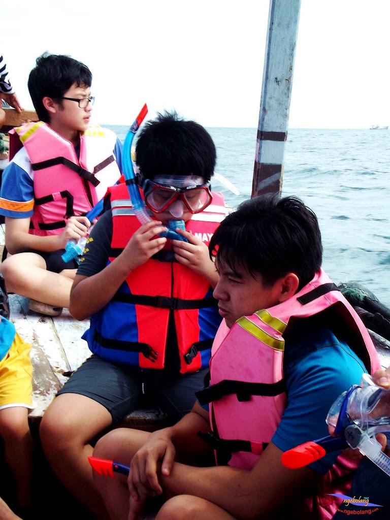 family trip pulau pari 140716 Fuji 056