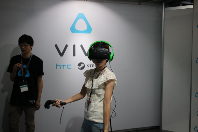 HTC Vive in 2016 TGS