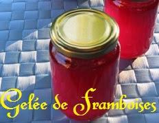 recette de la gelée de framboises