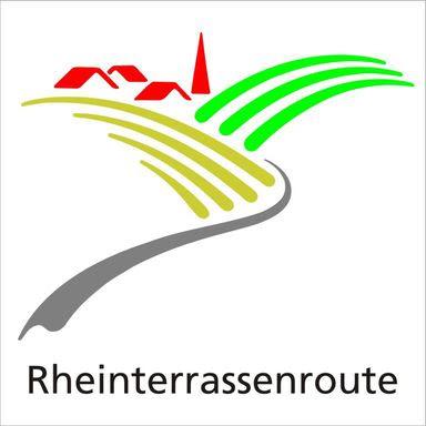 Logo Rheinterrassenroute, Rheinhessen