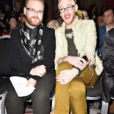 OIC - ENTSIMAGES.COM - Glen Chapman and Lewis_Duncan Weedon at the  LFW a/w 2016: Fashion International - catwalk show in London 20th February 2016 Photo Mobis Photos/OIC 0203 174 1069