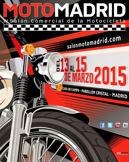 MotoMadrid celebra su cuarta edición del 13 al 15 de marzo de 2015