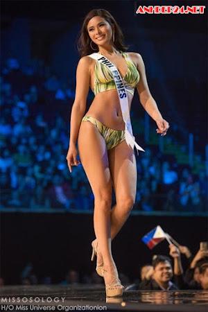 Ngắm bộ ảnh bikini của hoa hậu hoàn vũ