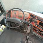het dashboard van de vanhool t917 acron van south west tours bus 67