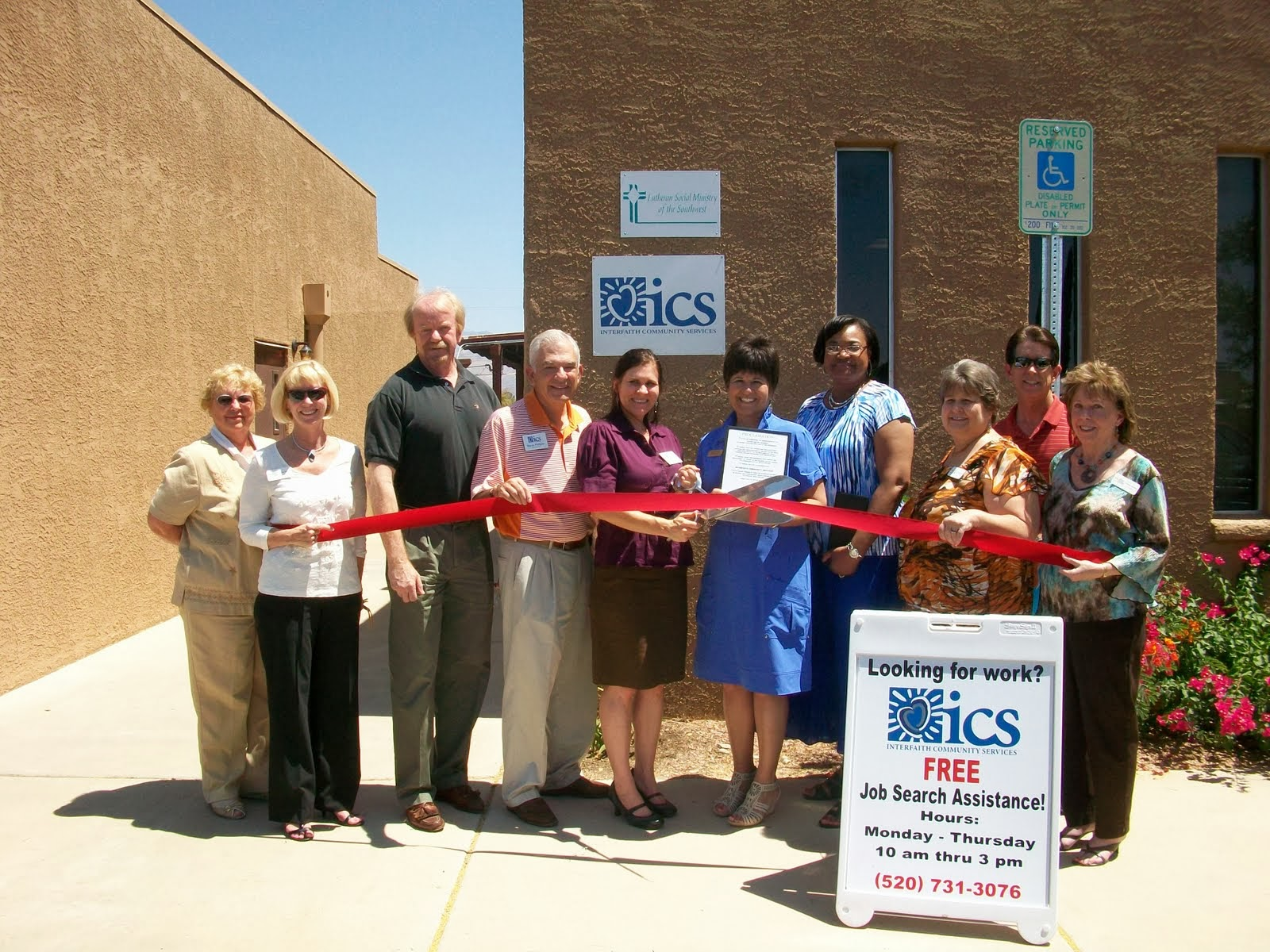 Interfaith Community Services, a non-profit organization serving seniors, individuals with disabilities and people in financial crisis, celebrates the grand opening of its new ICS Employment Resource Center and newly expanded Eastside Tucson office with a reception and open house.