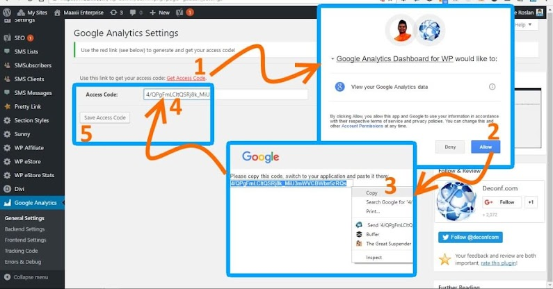 Google Analytics Dashboard for WP Google Authorization