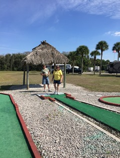 Miniature Golf with Dave & Lynn