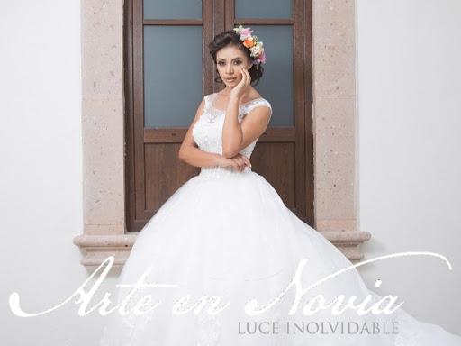 ℹ arte en novia - vestidos de novia. - boutique de vestidos de novia