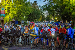 I think there were close to 40 riders. Impressive for an inaugural event.