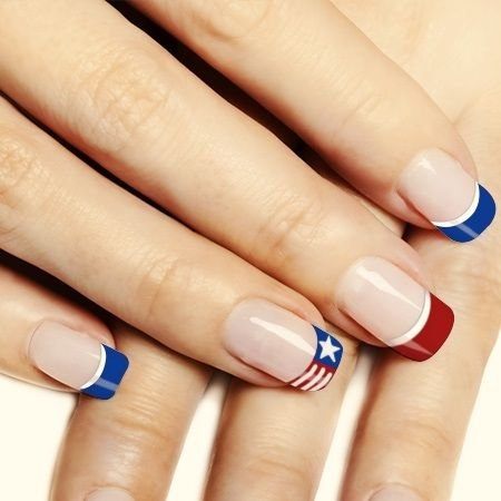 30 simple easy 4th july nails art ideas nails c 4th july nails designs best 25 4th of july nails ideas on pinterest july 4th nails trends prinsesfo Choice Image