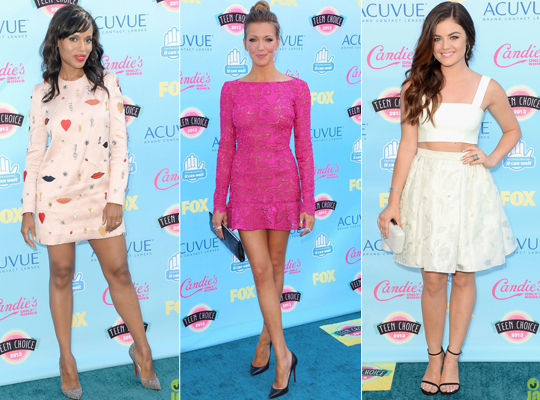 Red Carpet: Teen Choice Awards