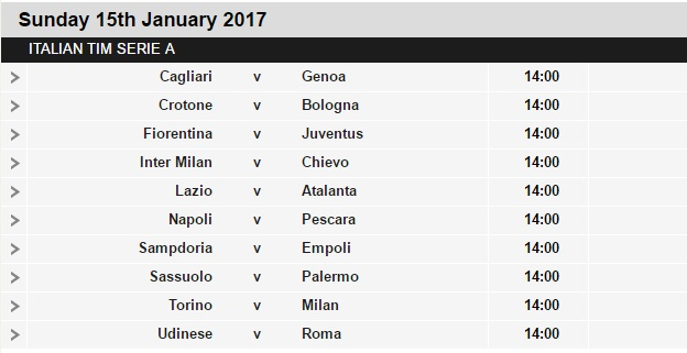 Serie%2BA%2Bschedule%2B20 Planning a Football Trip to Italy - SERIE A FIXTURES 2016/17