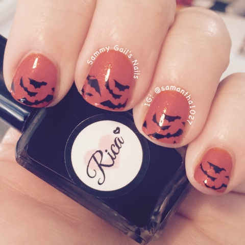 Sammy Gails Nails The Nail Challenge Collaborative October 2015