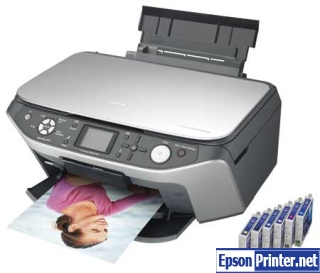 Download Epson RX650 resetter software