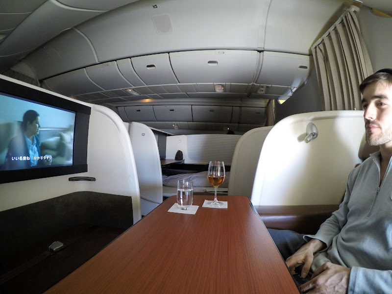 JL%252520F%252520HND LHR 116 - REVIEW - JAL : First Class - Tokyo Haneda to London (B77W)