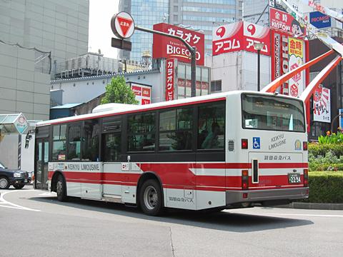 羽田京急バス「蒲95シャトルバス」 2294 リア