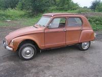 Citroen 1967 Dyane orange