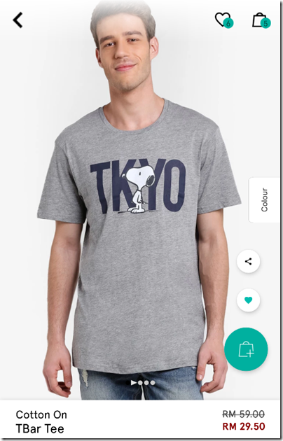 Cotton On Tbar Snoopy Tokyo Shirt