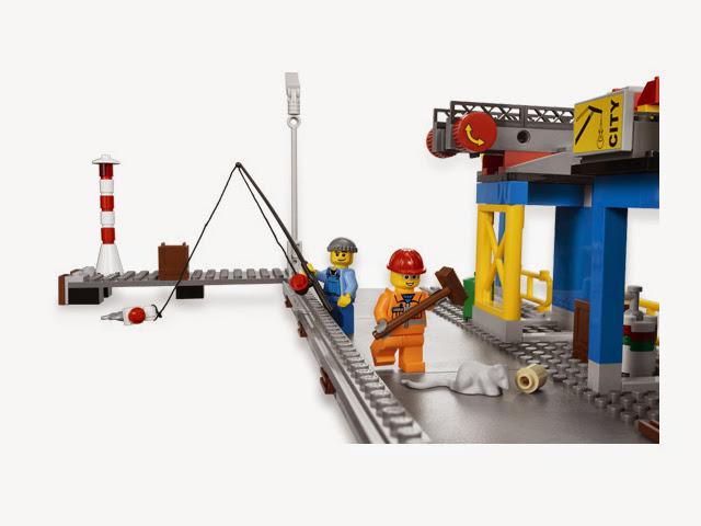 4645 レゴ コンテナ船とハーバー