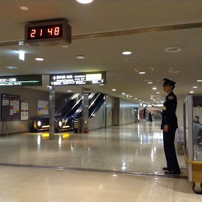 成田空港第二ターミナルの中