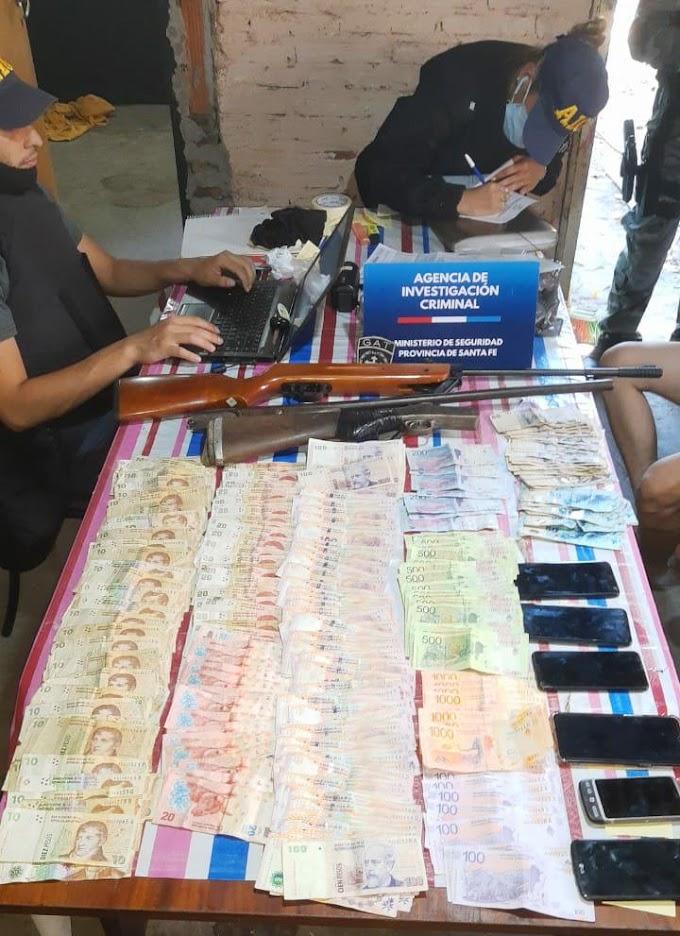 Armas, drogas, dólares, euros y detenidos; por el Asesinato de Delfino en Fonavi