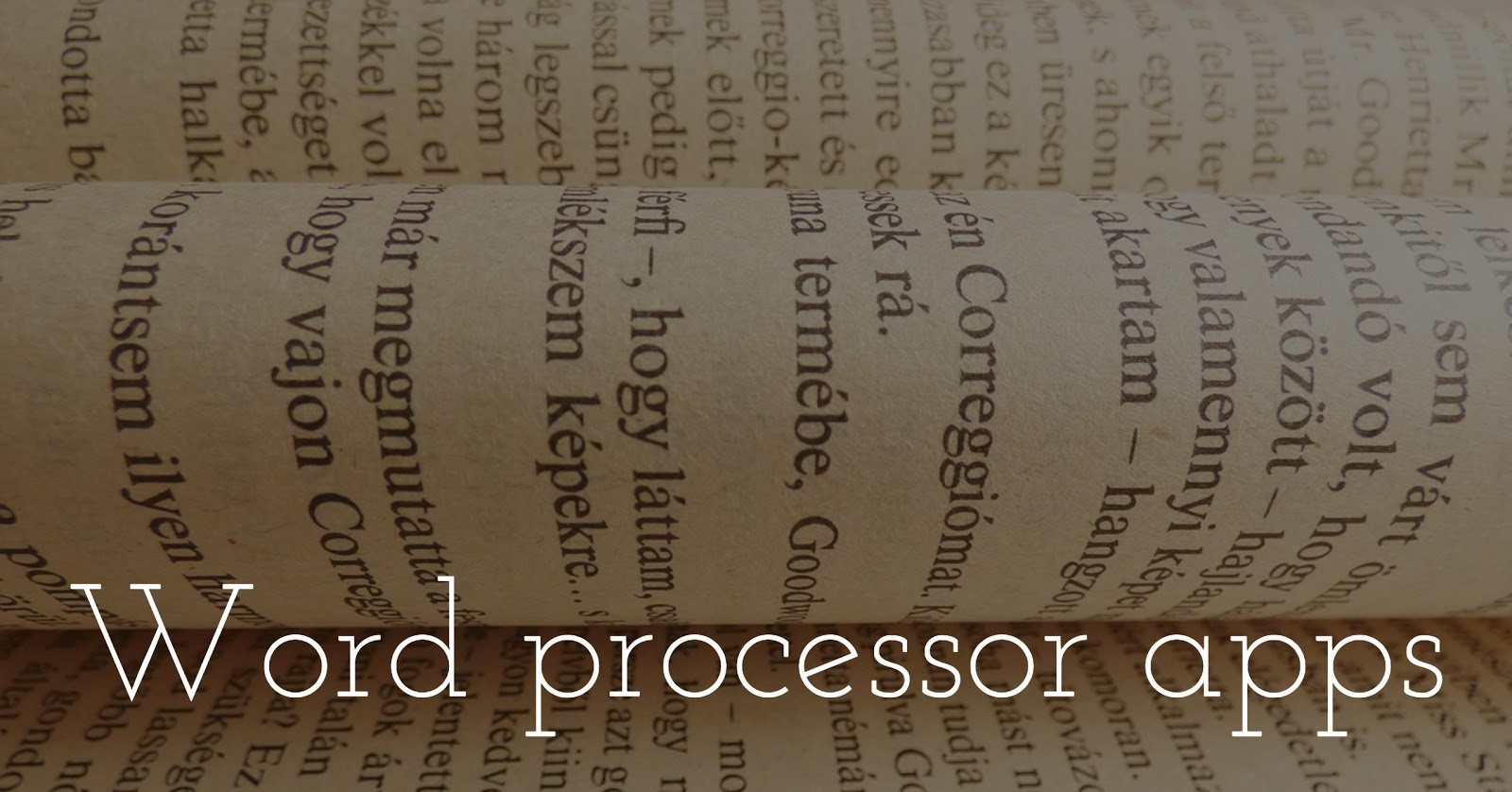 Best word processing apps for iPhone & iPad