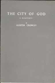 Cover of Aleister Crowley's Book City of God A Rhapsody