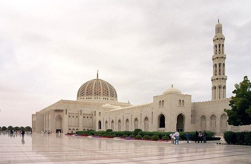 Oman - Muscat, Sultan Qaboos bin Said Grand-Mosque