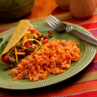 Mexican Rice in Minutes.